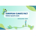 Launch event of the European Climate Pact